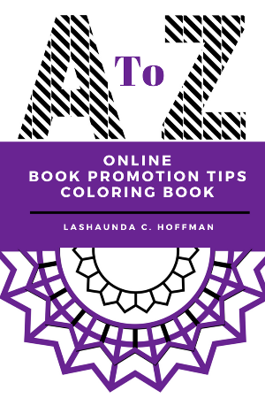 A to Z Online Book Promotion Tips Coloring Book