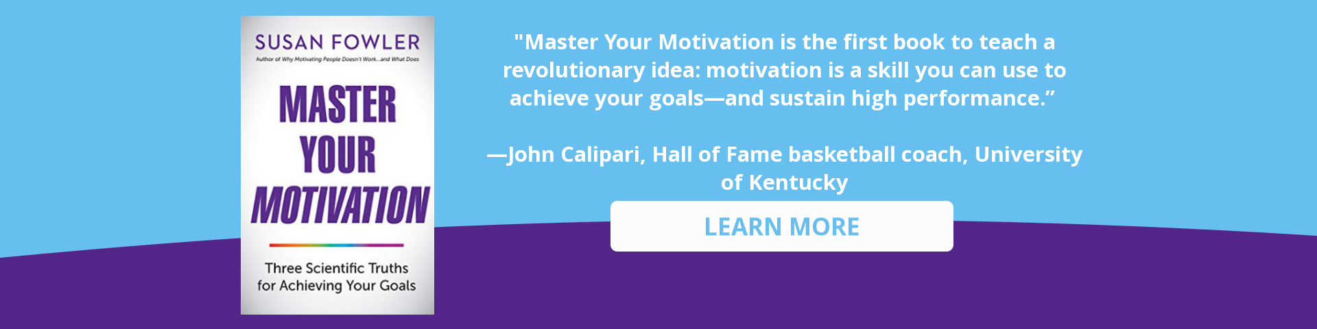 Master Your Motivation by Susan Fowler