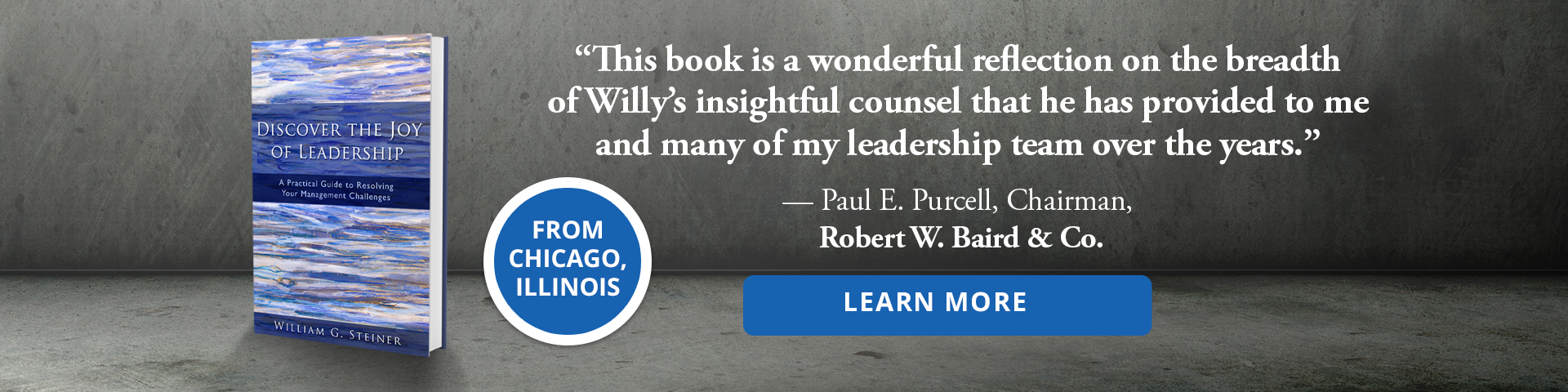 Discover the Joy of Leadership: A Practical Guide to Resolving Your Management Challenges by Willy Steiner