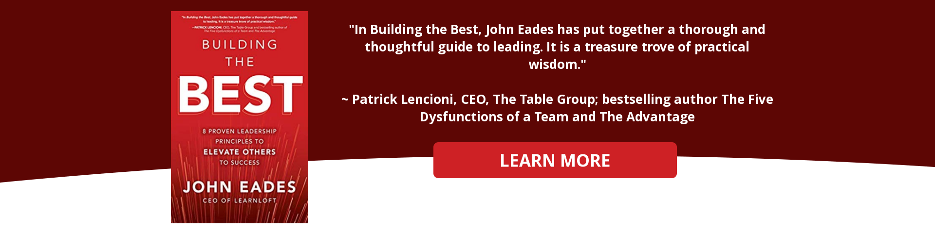 Building the Best by John Eades